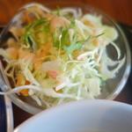 東銀座のタイランド食堂 ソイナナ - サラダ