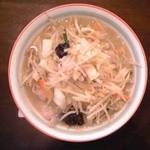 塩野菜タンメン:680円+税8%【2015年5月撮影】