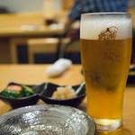 串屋 長右衛門 - 生ビール(ヱビス)
