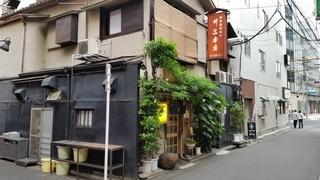 井泉 本店 - 上野広小路駅近く、小道を入ったところです