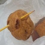 増英蒲鉾店 - 「がんも (90円)」もしっとりと出汁が染みておいしい