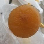 増英蒲鉾店 - 「大根 (時価)」、すっごく出汁が染みこんで、柔らかくなってました
