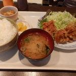 オークルジョーヌ - 鶏唐揚げ定食 600円