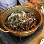 OHASHI - コースの蒸し牡蠣