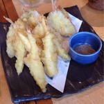 OHASHI - コース料理のイトヨリダイとマコモダケの天ぷら