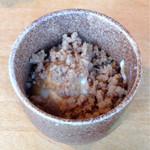 OHASHI - コース料理の豆腐のそぼろ餡