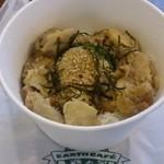 アースカフェ - テイクアウト500円ランチ丼