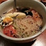 かぎかっこ新鮮焼肉 - 冷麺