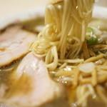 食堂七彩 - 喜多方type-SA醤油 稲庭中華麺