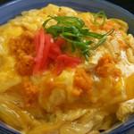 喜多八食堂 - うに卵とじ丼