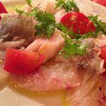 DINING de LAPiN - 活け真鯛のカルパッチョ