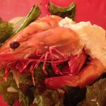 DINING de LAPiN - 足赤海老のサラダ