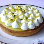 Peche - レモンクリームのタルト