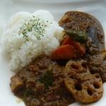 ポニ・アネラ - 特製 野菜ごろごろキーマカレー@950