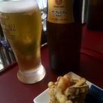 蕎麦処 空庵 - ビール付のセットにしました