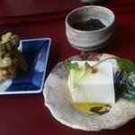 蕎麦処 空庵 - 小鉢3種
