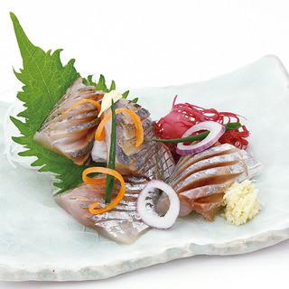 魚菜 日本橋亭 - 【長崎県産】鯵の刺身430円