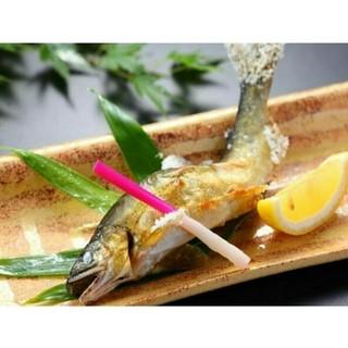 魚菜 日本橋亭 - 【愛知県産】鮎の炭火焼き580円