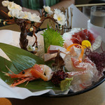 魚三昧 - 刺身五種盛り