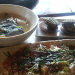 漁師料理十次郎 - てこねと貝 あら汁付きで 15?0円