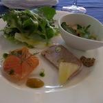 ル・マグノリア - 料理写真:Aランチ(1520円)の前菜