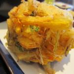 udondyayatsudura - 野菜かき揚げ