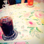 グロヴナーカフェ - アイスコーヒー 、 アイスティー