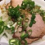 麺処 むささんじん - 焼豚丼