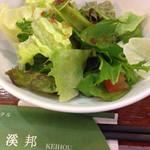 四川料理 溪邦 - 2015-06-08-12:25ポークとキャベツの味噌辛し炒めランチ