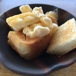 シーサイド  - サービスのおやつトースト