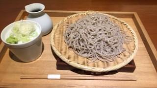 玄挽蕎麦 NAGARA - ざる蕎麦大盛