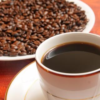 当店こだわりのコーヒー