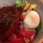 38817071 - ランチのロコモコ丼(1200円)