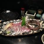 串焼きと地酒 ふかつ - 瀬の海の カマス!