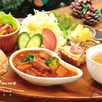 カフェ simme - 料理写真:マイベジ定食(本日のメイン:ベジシチュー)1080円〜