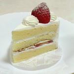 サクライ 洋菓子店 - 苺のショートケーキ。330円