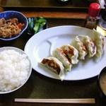 お好み焼き 加多瀬 - 料理写真:餃子定食