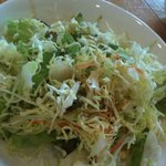 ラ・ポルタ - セットのサラダ(ドレッシングが美味しい)