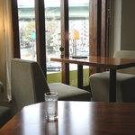 スギウラコーヒー - 一番奥の席