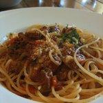 ラ・ポルタ - 牛スジ煮込みスパゲティ