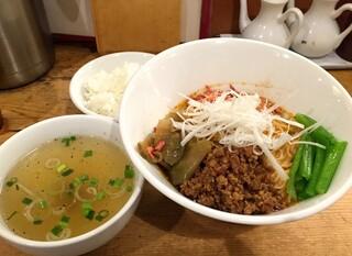 担々麺 ほおずき - 汁なし担々麺・中辛・中盛り