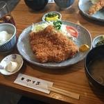 38823208 - 特大豚ヒレかつ定食