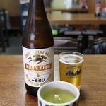 食堂 伊賀 - 瓶ビール中(500円)