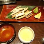 千代芭 - ハモ白焼き
