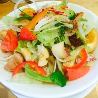 一徹らーめん - 10食限定の野菜ラーメン