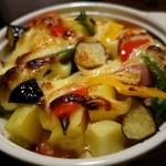 海鮮食道 十八番 - (2015/5月)「ベーコンと彩り野菜のマヨネーズ焼き」