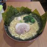 大森家 - ラーメン 並(麺固め)