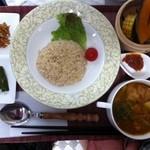 玄米食堂greengarden - スープカレー