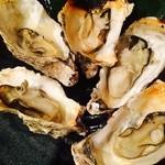 鰊御殿 - 牡蠣焼き