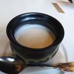 文明堂 カフェ - 日之影栗のプリン